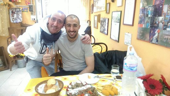 Trattoria Familiare da Michele & Jolanda: We really had a good time in this family restaurant.. it was great choice.. delicious food.. fre