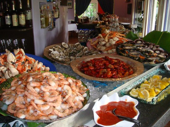 Patio Delray: Easter buffet brunch all you can eat seafood extravaganza