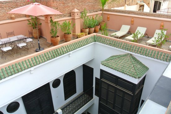 Riad Danka : terrasse