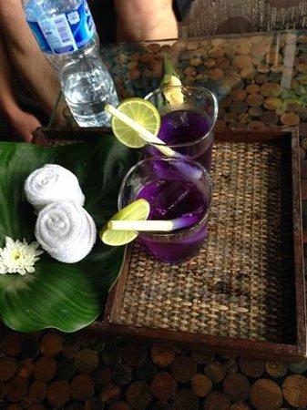 Anantara Rasananda Koh Phangan Villas: Welcom Drink