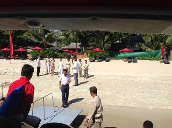 Anantara Rasananda Koh Phangan Villas : Прощания с туристами