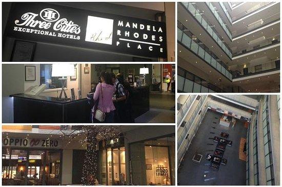 Mandela Rhodes Place Hotel : Hotel Reception