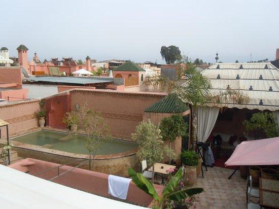 Riad Jona : rooftop swimming pool