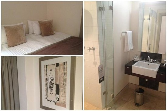 Mandela Rhodes Place Hotel: Second Room and Bathroom