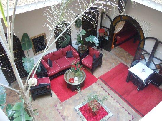 Riad Jona : reception/lounging area