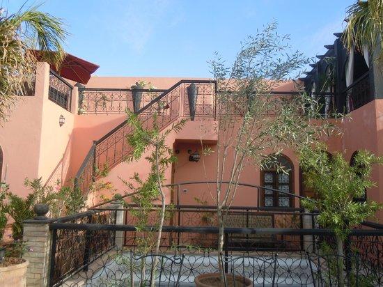 Riad Jona : hotel area