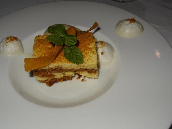 CasCades Restaurant: tiramisu