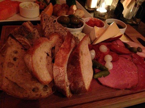 The Ballarat Trading Company: tasting platter