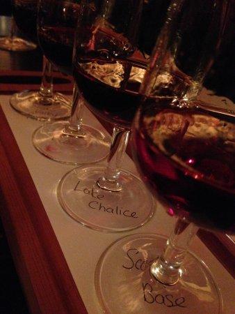 The Ballarat Trading Company: flight of wine