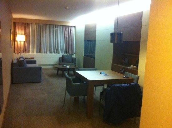 Radisson Blu Conference & Airport Hotel : Living room