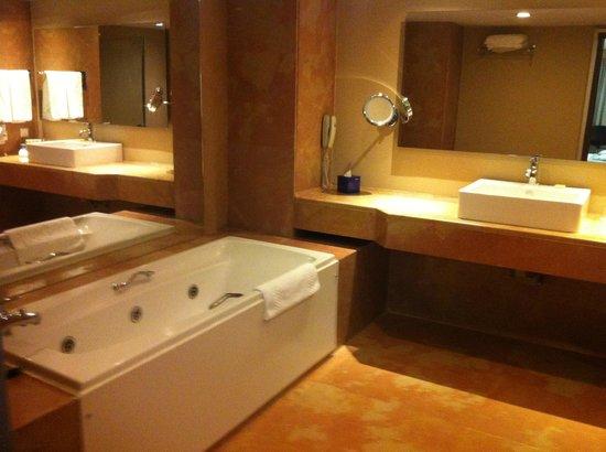 Radisson Blu Conference & Airport Hotel : Bath tub