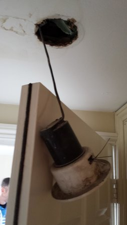 Regency Guest House: Light that was hanging down a danger you decide?