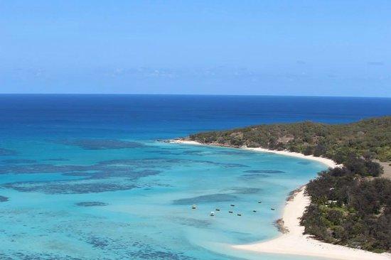 Lizard Island Resort: View from above