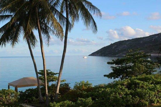 Lizard Island Resort: View from the restaurant