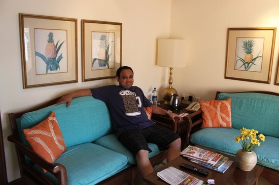 Vivanta by Taj - Fort Aguada, Goa : The sitting room