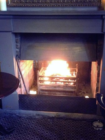 The Ram's Head: Our roaring fires