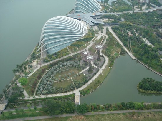 Marina Bay Sands Skypark: View from the skypark 2