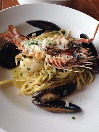 Donovans : Seafood pasta