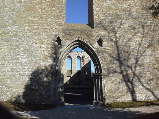 Convent of St. Bridget (Pirita Klooster): entrance