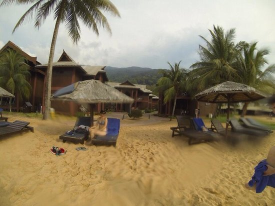 Berjaya Tioman Resort - Malaysia : La plage