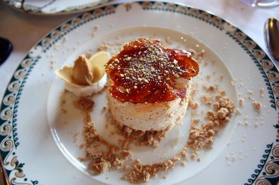 Restaurante Parador Nacional Castillo de Siguenza : semifrio de turron