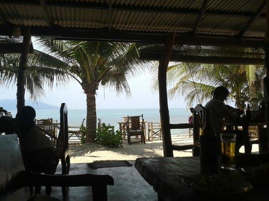 Melati Beach Resort & Spa : Thongson Bungalows Restaurant View