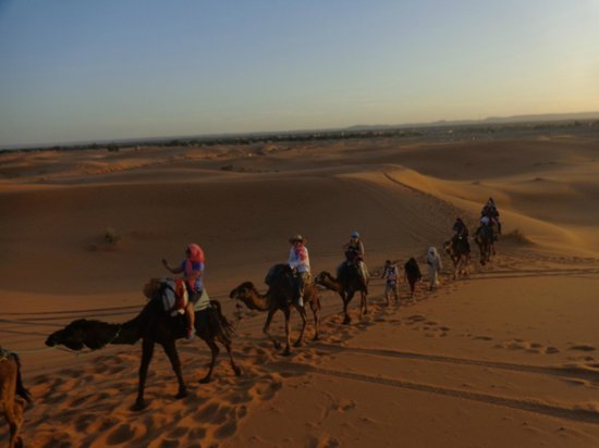 Camels House: Our ride to the bivouac