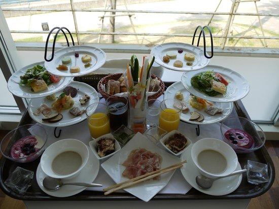 Hotel Setre: 朝食はお部屋でとります。
