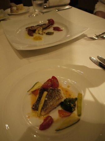 Hotel Setre: お料理には大満足です!