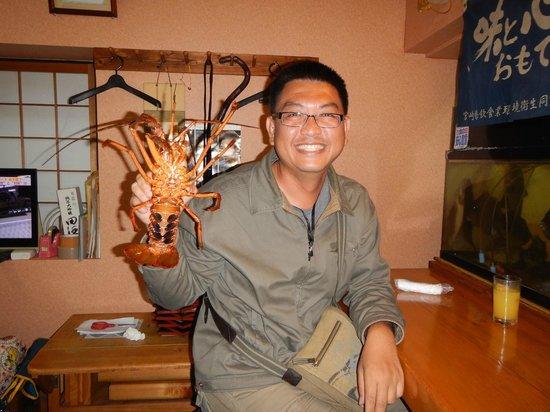 Hamasaki: Miyazaki lobster & me
