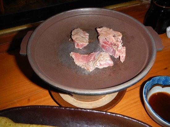 Hamasaki: Pan fried beef