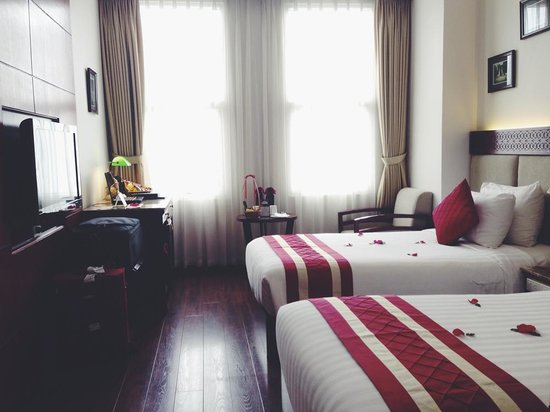 Hanoi Elegance Emerald Hotel: twin-sharing room