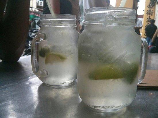 Tek Sen Restaurant : Refreshing lime drink