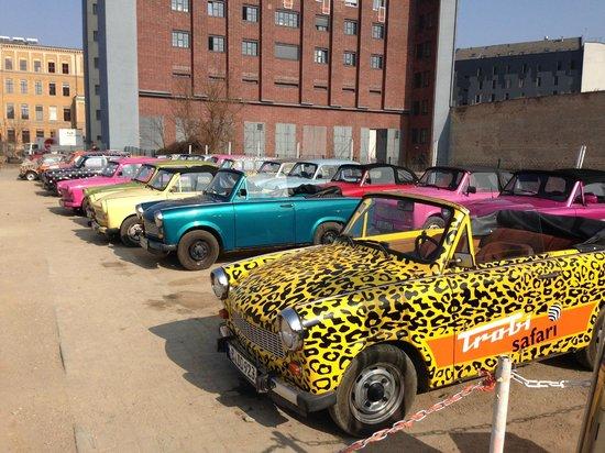 Trabi-Safari - TrabiWorld Berlin: A great selection!