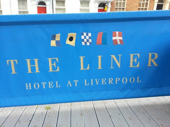 The Liner Hotel: Outside