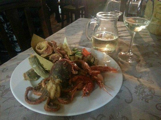 L'Aragosta: speciale fritto misto