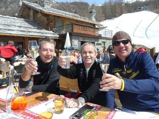 Foyer des Guides : Salute in Valtournenche!