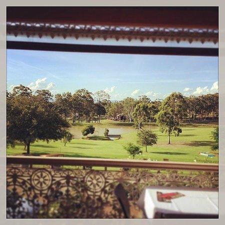 Verandah Restaurant: Magnificent view