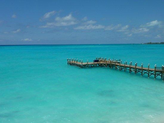 Club Med Columbus Isle : la vue du centre de plongée...what else ?