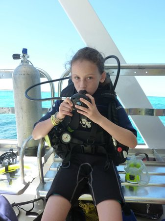 Club Med Columbus Isle : Prête à plonger !