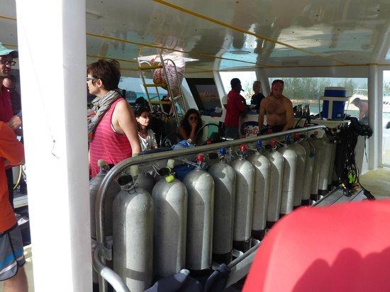 Club Med Columbus Isle: le bateau