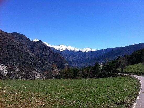 Casa Rural Tomaso: Buenas montañas