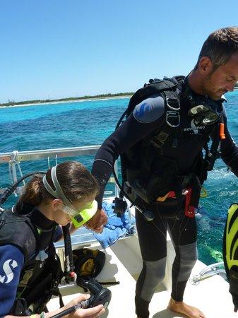 Club Med Columbus Isle : Première plongée