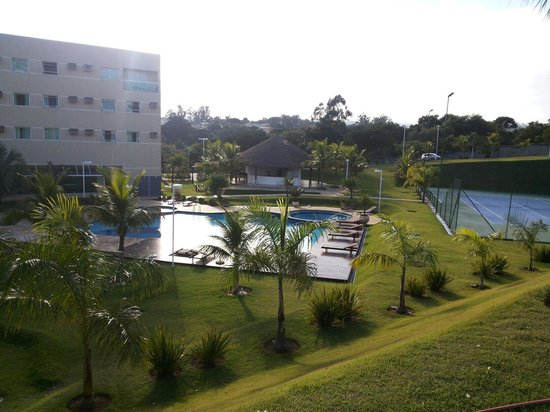 Vinhedo Plaza Hotel: Vista dos bangalôs.