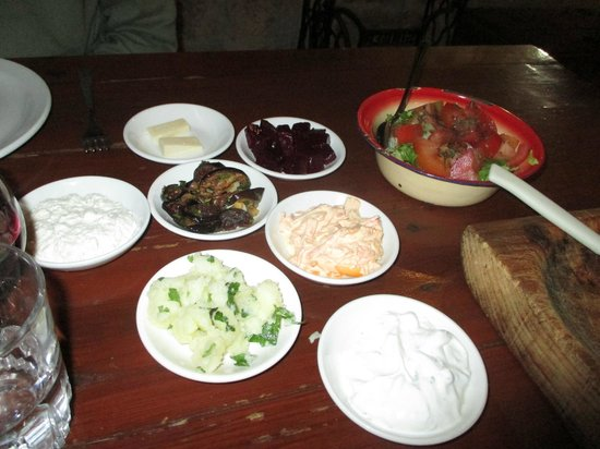 7 St. Georges Tavern : Some vegetarian mezze as a starter