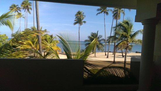 Gran Melia Golf Resort Puerto Rico : Outside of our Red Level Junior Suite