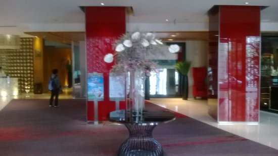 Pan Pacific Xiamen : The welcome lobby