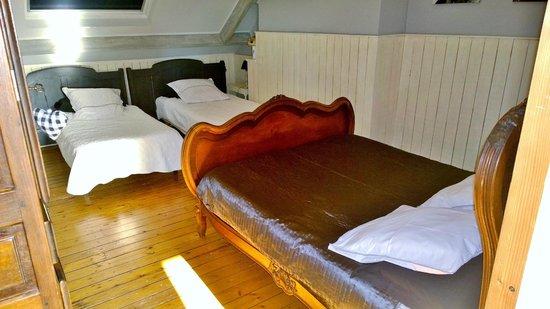 Chambres d'Hotes du Parc: The Beds