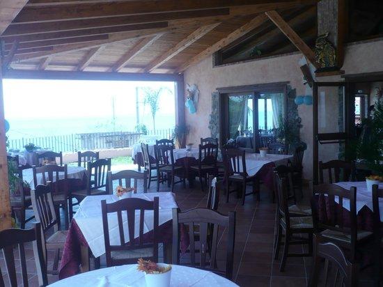 L'Aragosta: la veranda con vista mare da mozzafiato