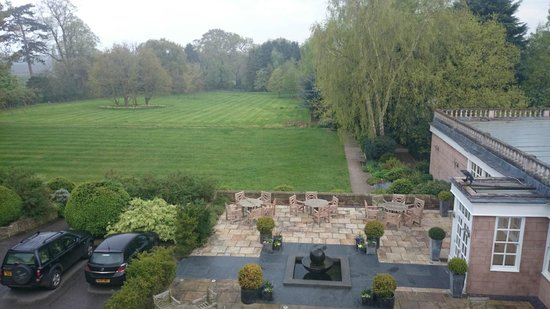 Rowton Hall Hotel: View from room
